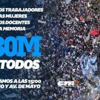 Otro día de marchas: Las dos CTA y parte de la CGT van a Plaza de Mayo en defensa del trabajo