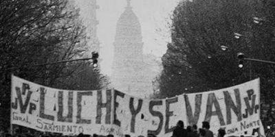 """""""Luche y se van"""", a 35 años de la heroica movilización obrera que marcó el fin de la dictadura cívico-militar"""