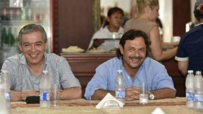 Sáenz se reunió con dirigentes de Orán para fortalecer los lazos