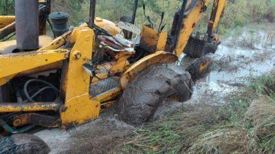 Dramática situación en el sur provincial por la intensa lluvia