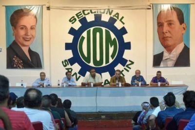 En la UOM de San Martín, Katopodis se reunión con dirigentes sindicales