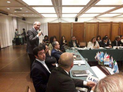 Blanco disertó en encuentro del Consejo Federal de Drogas