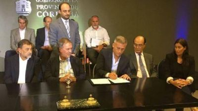 Provincia se comprometió a terminar las cloacas en Carlos Paz