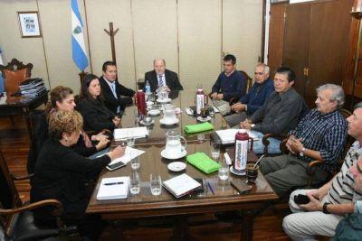 Verna y su gabinete se reunieron con Altolaguirre
