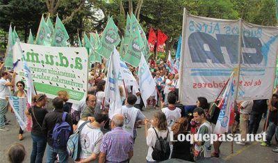 La CTA realizó una movilización en Mar del Plata con fuertes críticas al gobierno