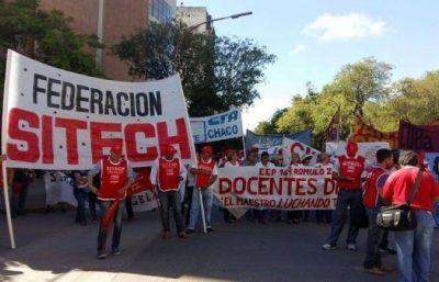 Federación Sitech se movilizó en Resistencia