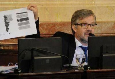 Reclamo del senador José Ojeda
