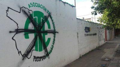 Conflicto en ATE Tucumán: Escracharon la Sede de la Agrupación Verde y Blanca