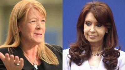 "La furia de Cristina Kirchner contra Margarita Stolbizer: insultos, denuncias y ""carpetazos"