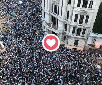 Macri celebró