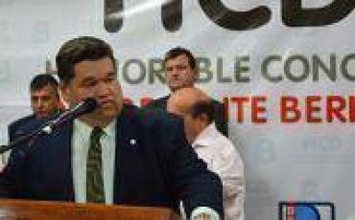 Berisso: Nedela inauguró las sesiones ordinarias del Concejo Deliberante