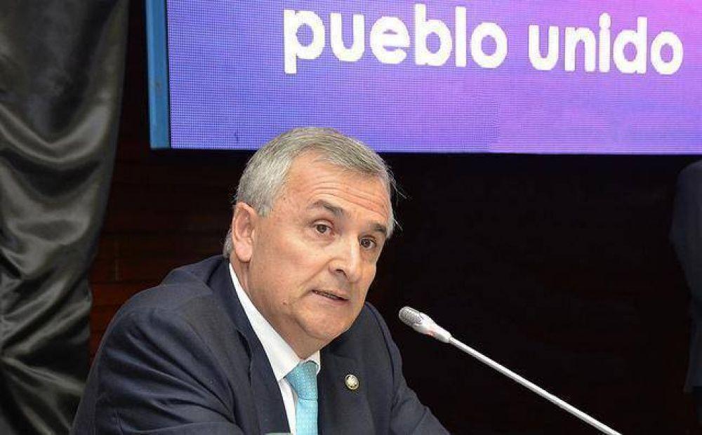 Morales inauguró el 156º período de sesiones de la Legislatura
