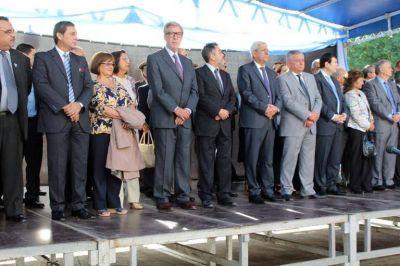 El Intendente Infante participó de los actos centrales por el 35 Aniversario de la Gesta de Malvinas