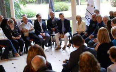 Macri y Vidal se reunieron con ex combatientes de Malvinas