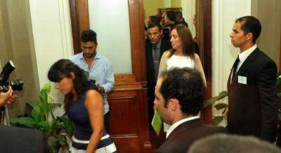 Molesta porque Magario alienta a los docentes, Vidal vuelve con la idea de partir La Matanza