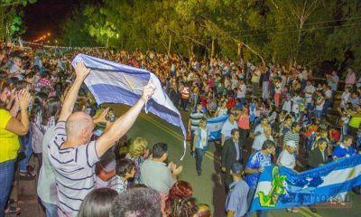 En Mercedes, Corrientes rindió homenaje a los héroes que combatieron en Malvinas