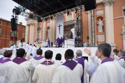 Texto completo de la homilía del papa Francisco en Carpi, zona del terremoto de 2012 en Italia