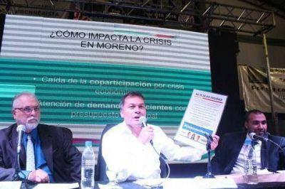 Festa abrió las sesiones del Concejo de Moreno y anunció la creación del Hospital de Especialidades Pediátricas