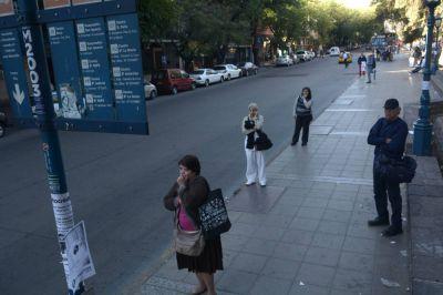 El paro en Mendoza: sin micros, bancos y escuelas