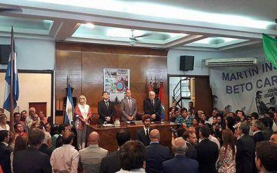 Insaurralde insistió en el traspaso de la Policía local a los municipios