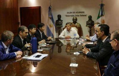 Peppo se reunió con coreanos interesados en invertir en el Chaco