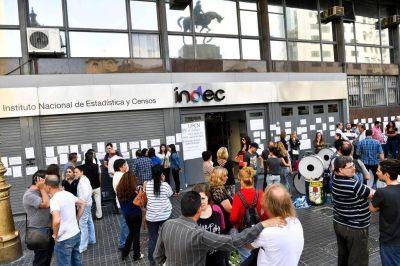 INDEC: protesta por el despido de 80 empleados