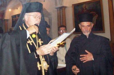 Distinción a Mons. Salaméh, exarca greco-melquita