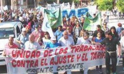AMP y UDA ratificaron que sus docentes paran el 6 de abril