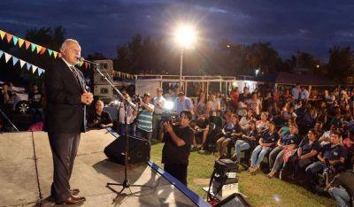 Lifschitz inauguró un nuevo centro de cuidado infantil en Ángel Gallardo