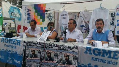 Los gremios docentes realizan presentaciones judiciales contra el Gobierno y Panozzo