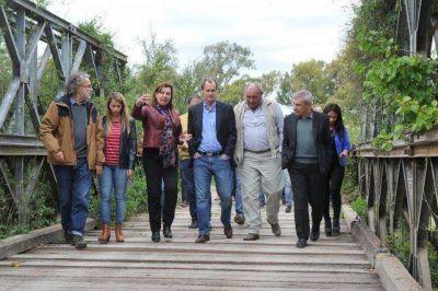 La provincia consiguió un crédito del BID para reemplazar los puentes Bailey