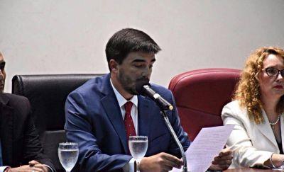 """Galli abrió las sesiones del HCD: """"Hoy vine a transmitirles que sí se puede"""""""