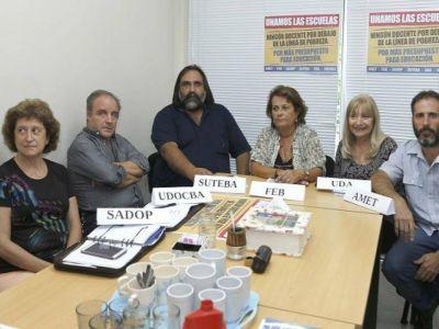 Conflicto docente: UDOCBA confirma
