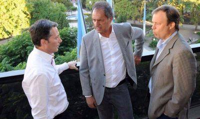 Scioli profundiza sus recorridas por el conurbano junto a intendentes