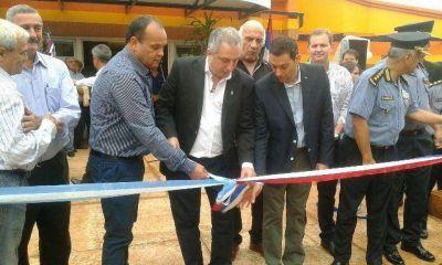 El gobernador Passalacqua dejó inaugurada una comisaría en Los Helechos y aseguró que la seguridad pública es una prioridad