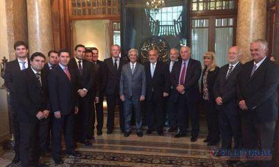 Colombi estrechó lazos de cooperación con el primer mandatario uruguayo