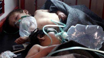 Ascienden a 72 los muertos por el supuesto bombardeo químico