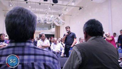 Los municipales de Avellaneda manifestaron su adhesión al triunvirato
