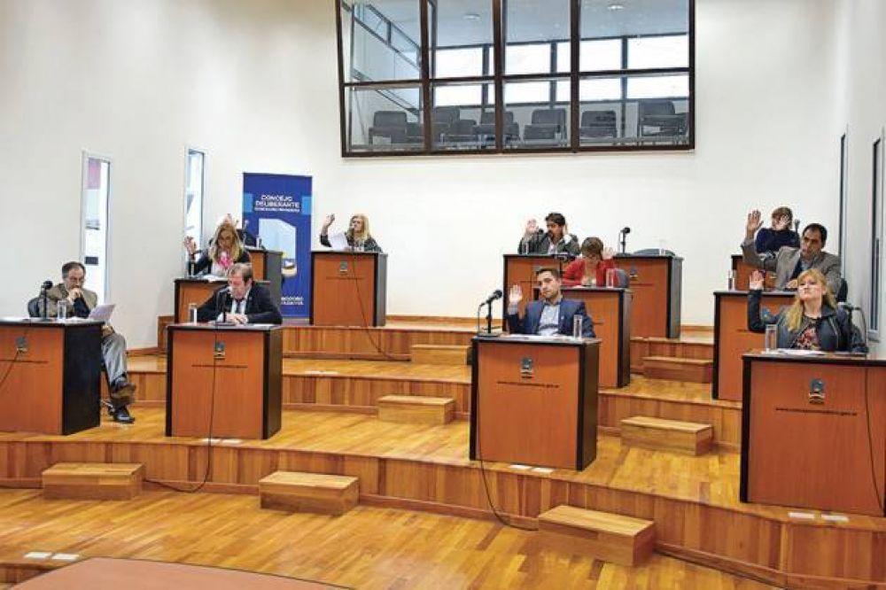 Temporal: el Concejo aprobó la emergencia en lo económico, social, administrativo y financiero