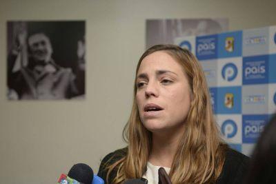 La diputada Soria denunció penalmente al gobernador