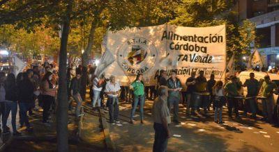 Marchas y protestas en Córdoba por el paro