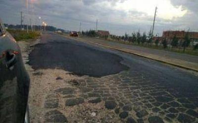 ¿Fraude en la pavimentación del Camino de las Latas?