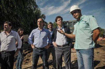 Nación financiará nuevas obras hídricas en Santa Fe