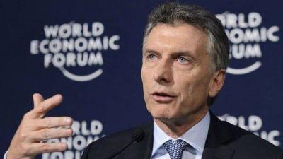 Mauricio Macri inaugurará el Foro Económico Mundial