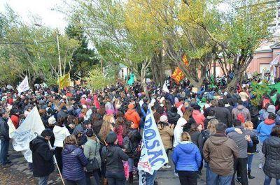 Nueva marcha provincial de trabajadores estatales