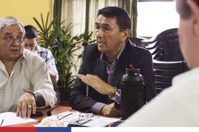 Ministro de Trabajo se reunió con gremios estatales