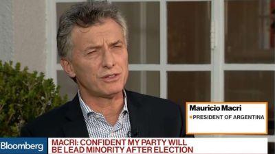 Mauricio Macri afirmó que
