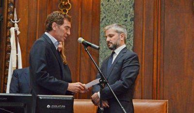 Vicente Rodríguez juró como nuevo auditor porteño