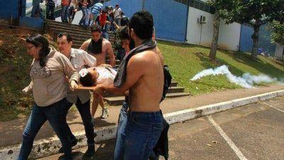 Sigue la represión en Venezuela: las protestas en dos ciudades contra el régimen chavista dejaron una treintena de heridos