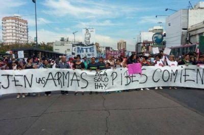 Masiva marcha contra Grindetti: confirmaron que una de las heridas perdió su embarazo